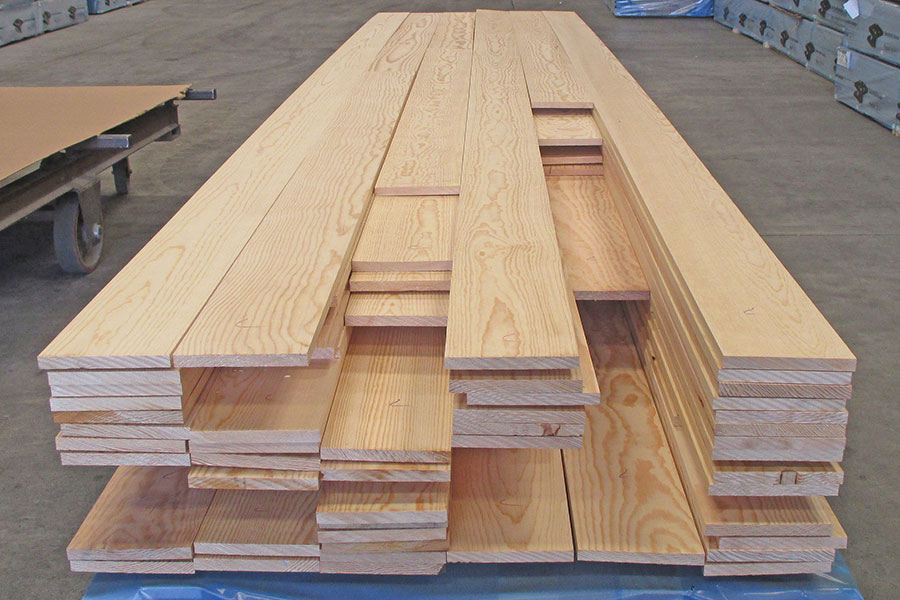 Clear ponderosa pine for Decking planks for sale
